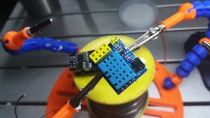 【ESP01S】ESP01で室温、湿度をリアルタイムで測定してみる【ESP8266】