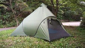 【全長5m】巨大テントのフィンガルを持ってキャンプしてみた。