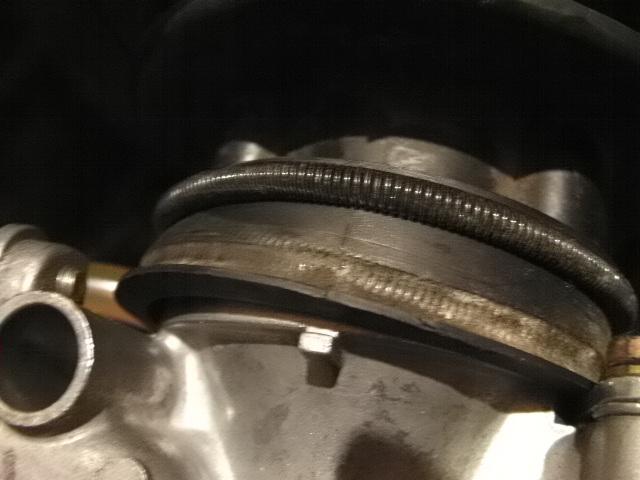 エアクリボックスとキャブレターを合体?ZZR250の修理