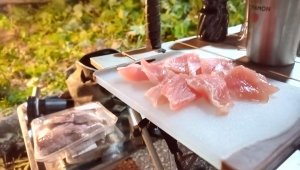 【鯛スープ】仕事帰りにキャンプしてみた。10張目