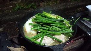 【仕事帰りキャンプ】キャンプでの鶏鍋&うどんは最高だった。【第12張目】