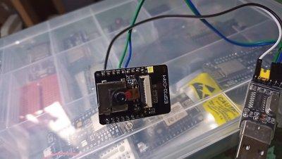 【ESP32CAM】自作タイムラプスカメラを安定化してみる【書き込みエラー】