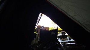 ケシュアのテント2SECONDS EASYの室内画像